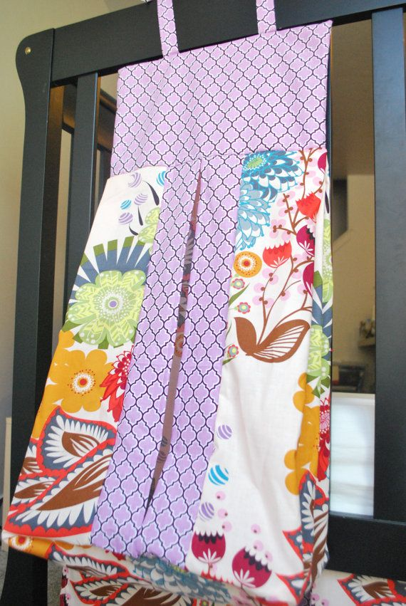 DIAPER STACKER-Custom Crib Bedding. $38.00, via Etsy... love this ...