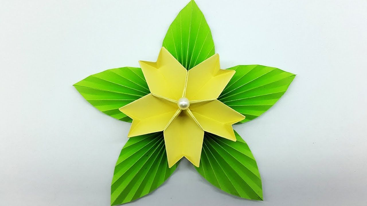 How to make simple paper flower for home decoration diy flower how to make simple paper flower for home decoration diy flower making mightylinksfo