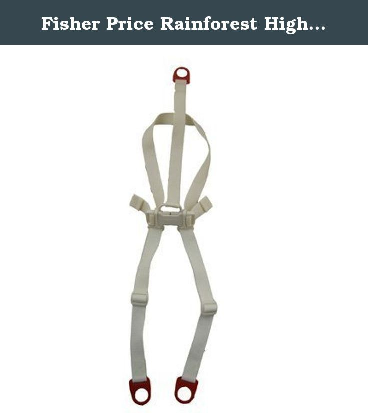 Fisher Price Rainforest High Chair Replacement Harness Seat Belt