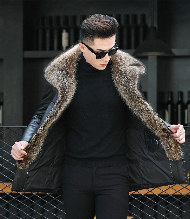Pin by millycart on Men's Fashion Shearling jacket