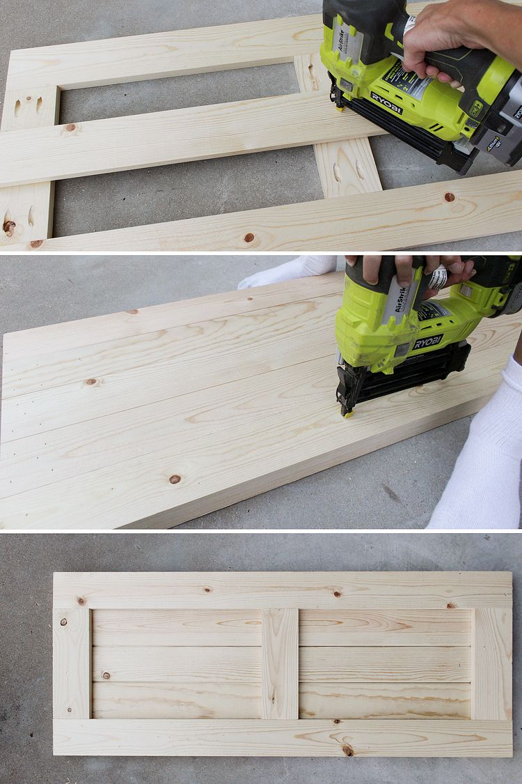DIY Craftsman Exterior Shutters | DIY Projects | Pinterest ...