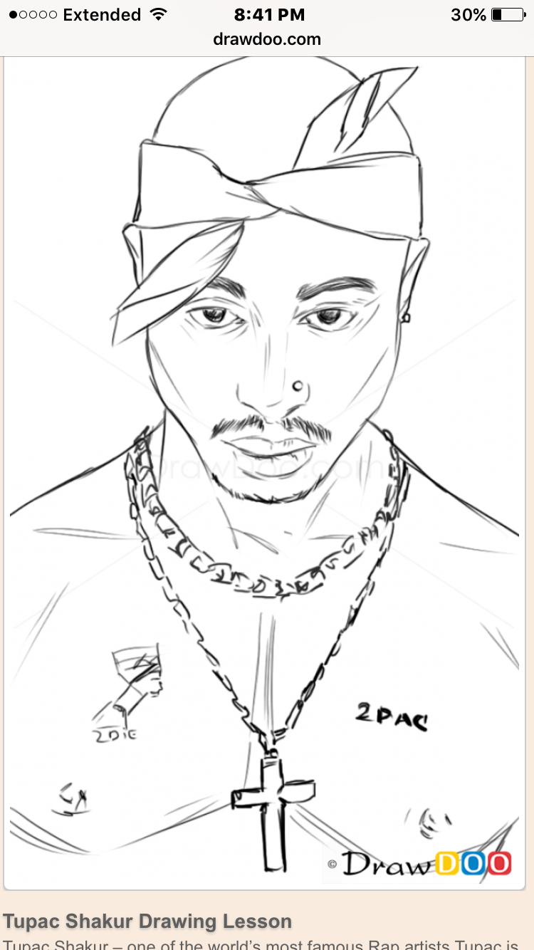 Pin By Stay Trill On Art In 2019 Tupac Art Tupac Shakur