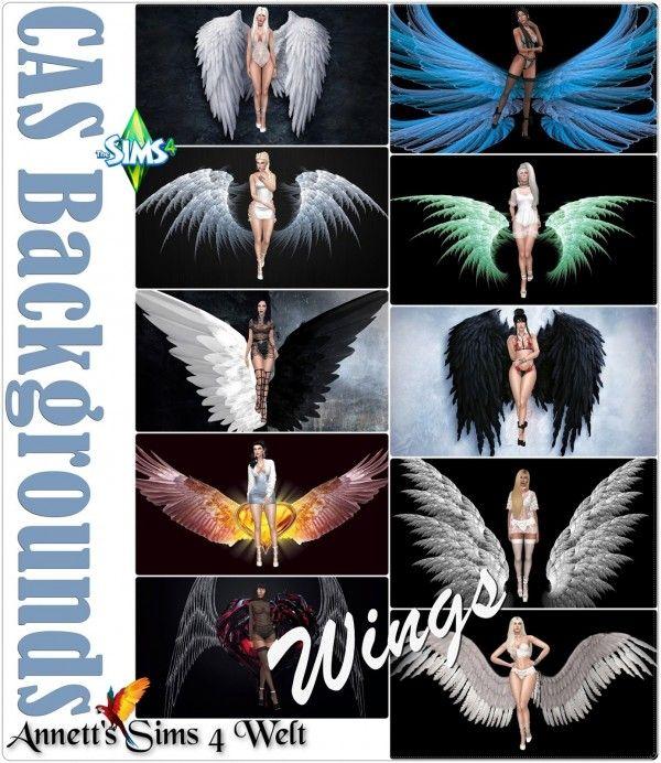 Wings Sims 4