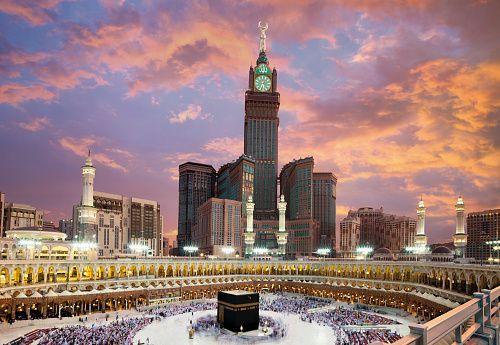 Makkah Clock Royal Towe In Fairmont Hotel Makkah Kingdom Of Saudi Arabia Mekah Mekkah Kota