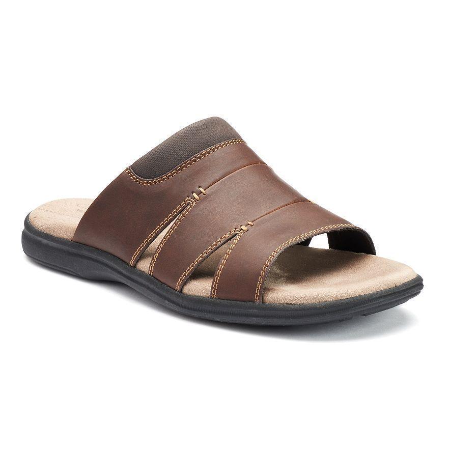 5f4a43c4a56 Croft   Barrow Solid Shoes for Men. Croft Barrow Mens Slide Sandals ...