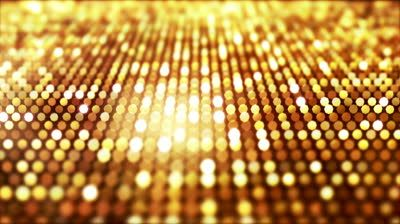 Flickering Particles Loop - Gold (HD 1080).  Seamless Loop. Other Colors Available - View Portfolio. - HD stock footage clip