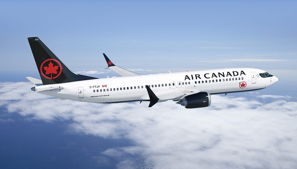 Air Canada To Launch New Service To Kauai With New Boeing 737 Max Fleet Air Canada Flights Boeing Cancelled Flight