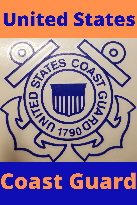 United States Coast Guard Logo Coast Guard Girlfriend Coast Guard Wife Coast Guard Logo