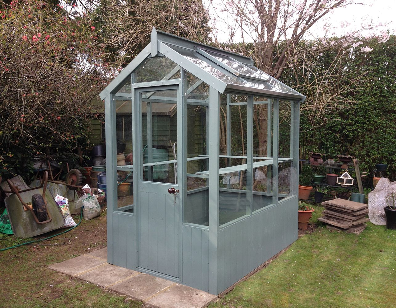 Cotswold Small 4x4 Wooden Greenhouse Greenhouses