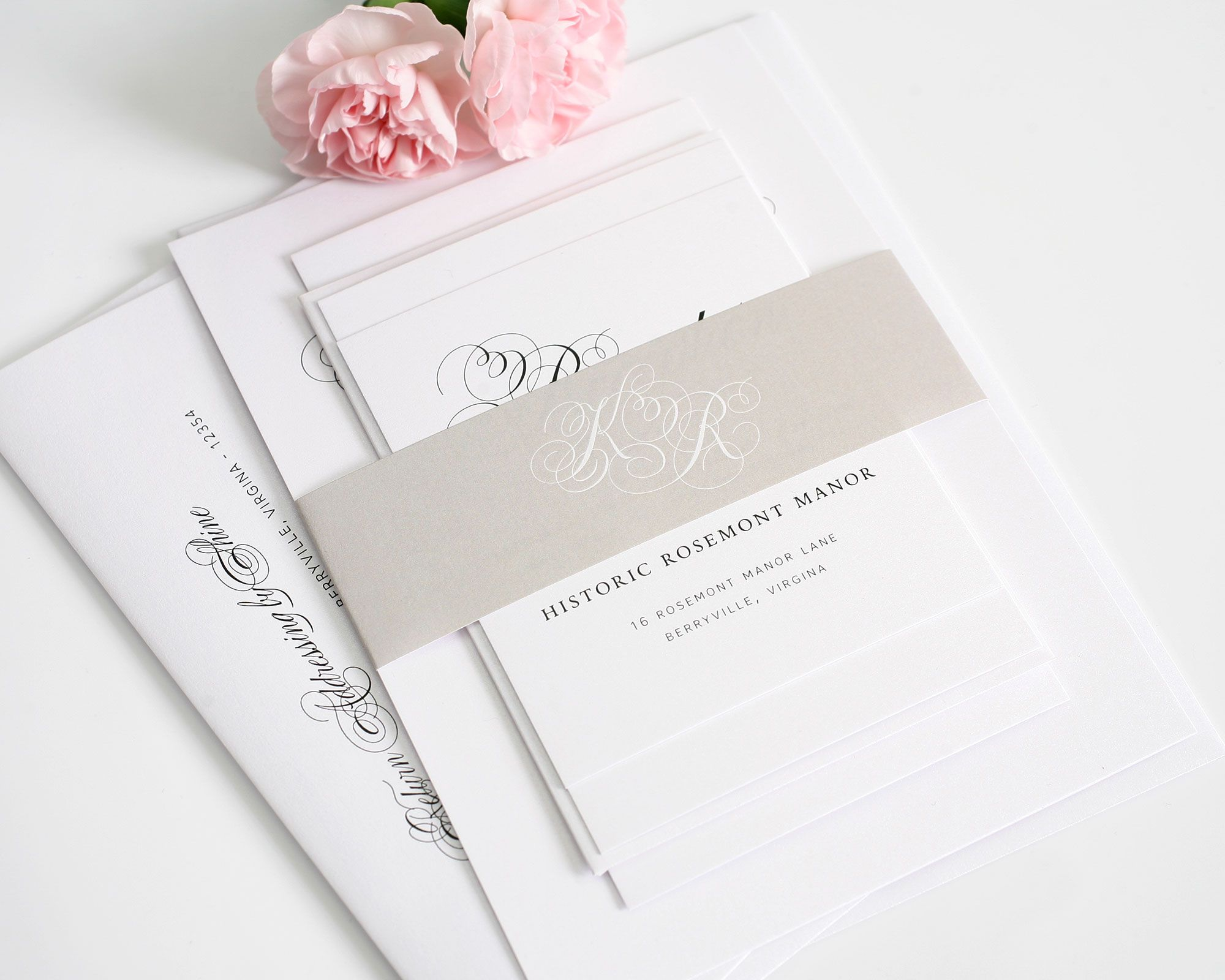 Southern Script Wedding Invitations | Southern, Weddings and Wedding