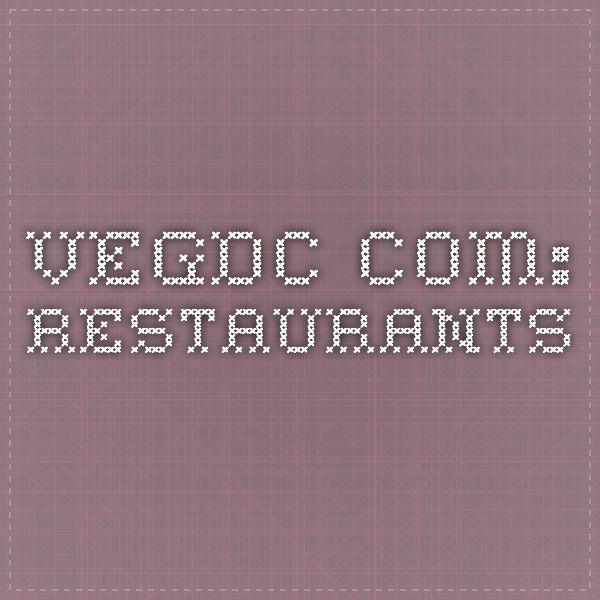 VegDC.com: Restaurants