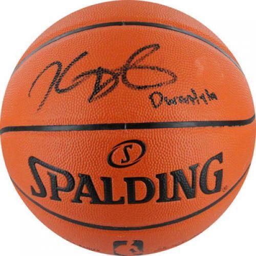 Kevin Durant Signed Basketball Spalding Indoor Outdoor