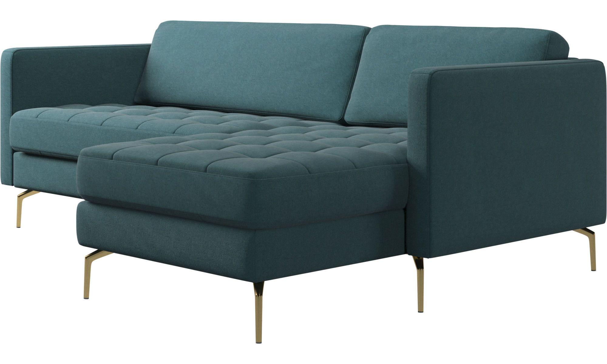 Osaka Sofa With Resting Unit Tufted Seat Chaise Longue