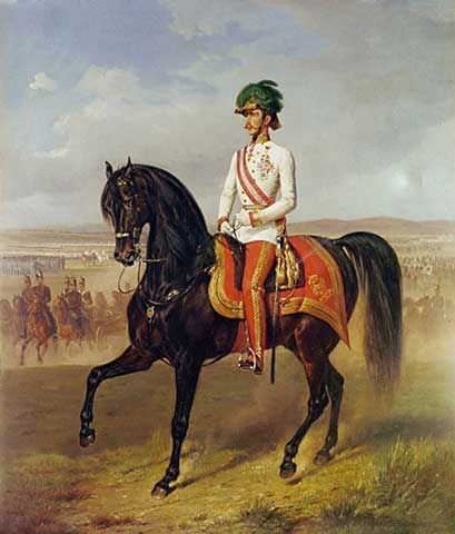 Emperor Franz Joseph Art Art Reproductions Horse Art