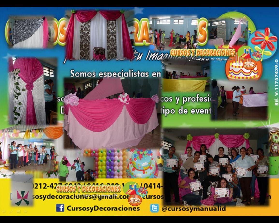 Curso decoracion con telas para eventos cursos - Proveedores de decoracion ...