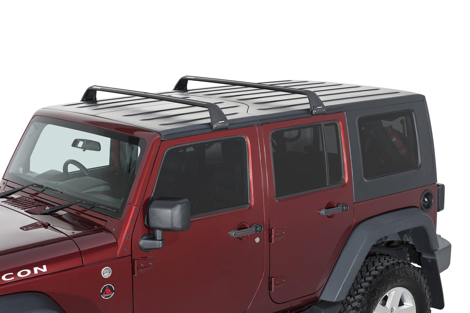 Rhino Rack Sg59 Gutter Mount Vortex 2 Bar Roof Rack For 07 20 Wrangler Jl Jk Unlimited
