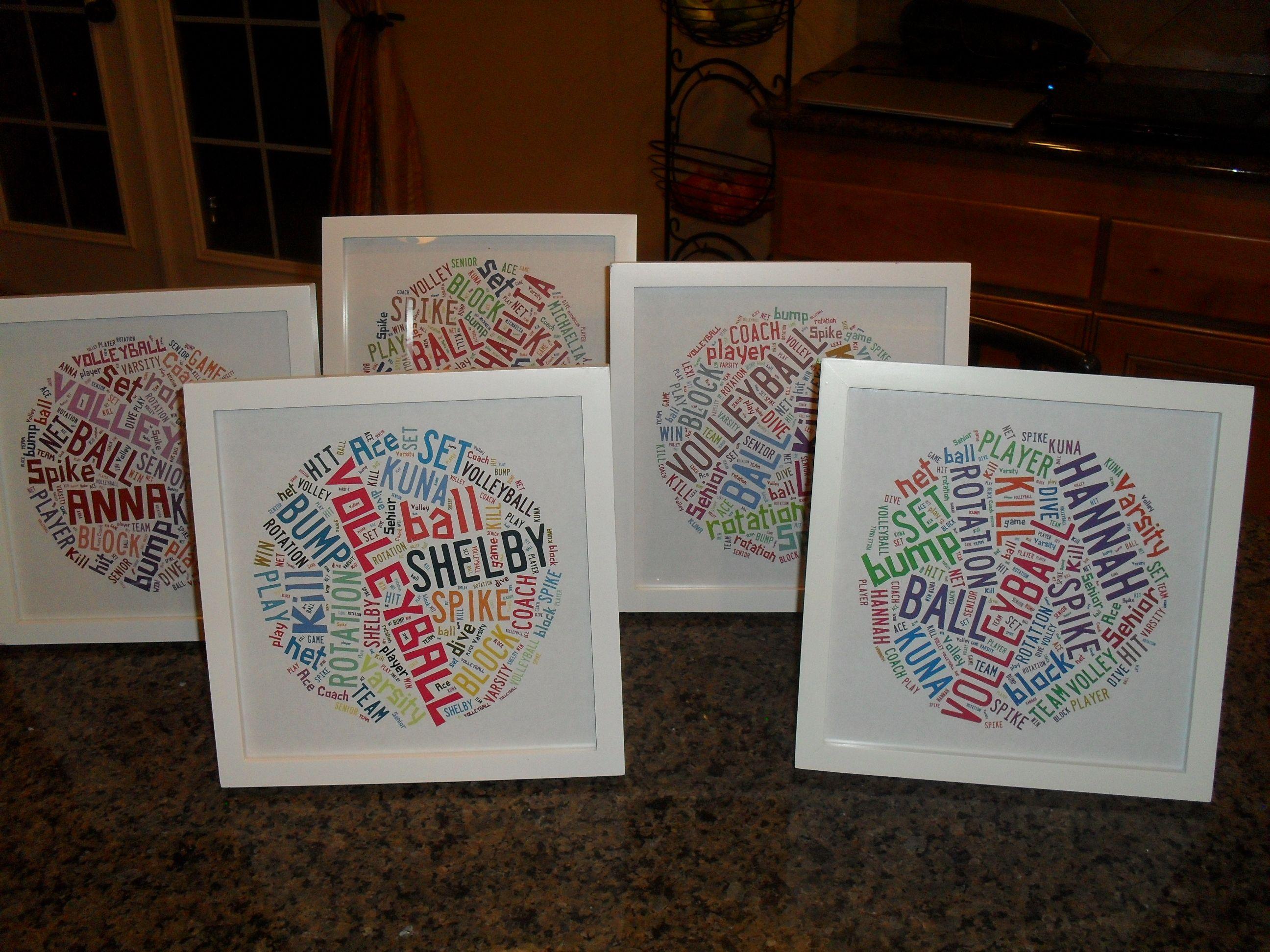 Best 25+ Senior gifts ideas on Pinterest   Softball team gifts ...