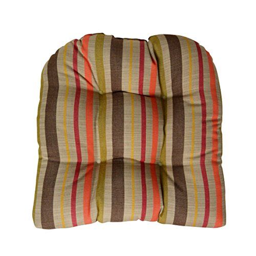 sunbrella solano fiesta large wicker chair cushion indoor
