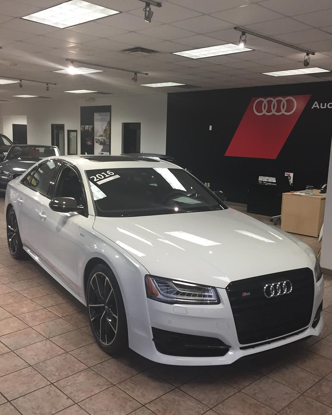 New to the showroom a Certified Pre-Owned 2016 Audi S8 Plus with only 2200 miles!!