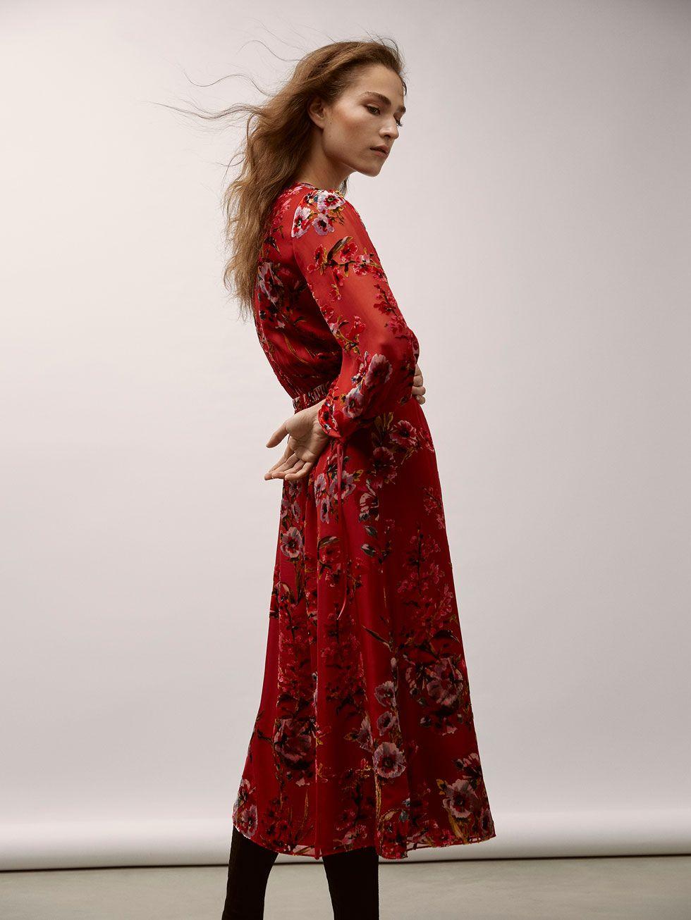 Massimo dutti mujer vestidos fiesta