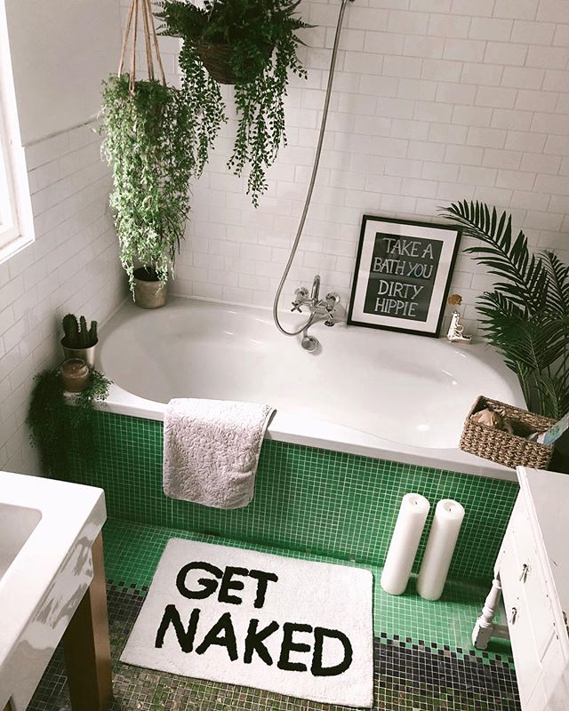 "Natalia Homolova on Instagram: ""First sneak into our bathroom � there are still many things I want to get and decor so stay tuned, can't wait to show you when it's all…"""