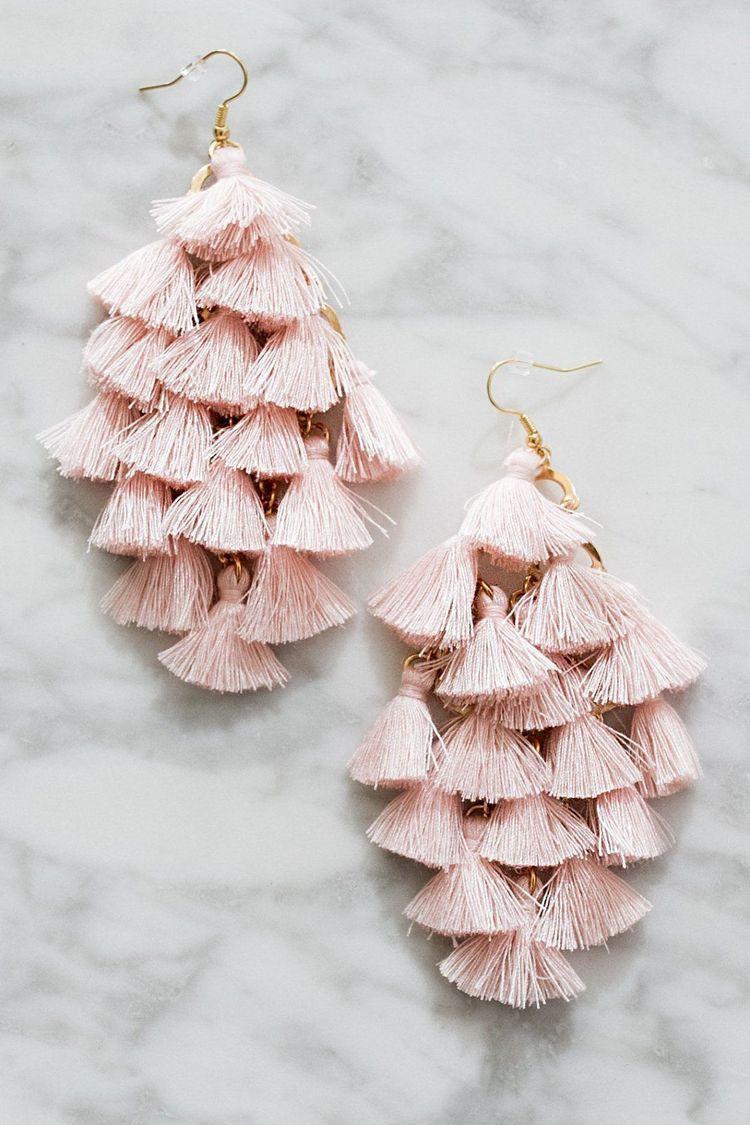 pinterest: piriesellars2 ☆ | Trendy fashion jewelry, Fabric jewelry, Jewelry  inspiration