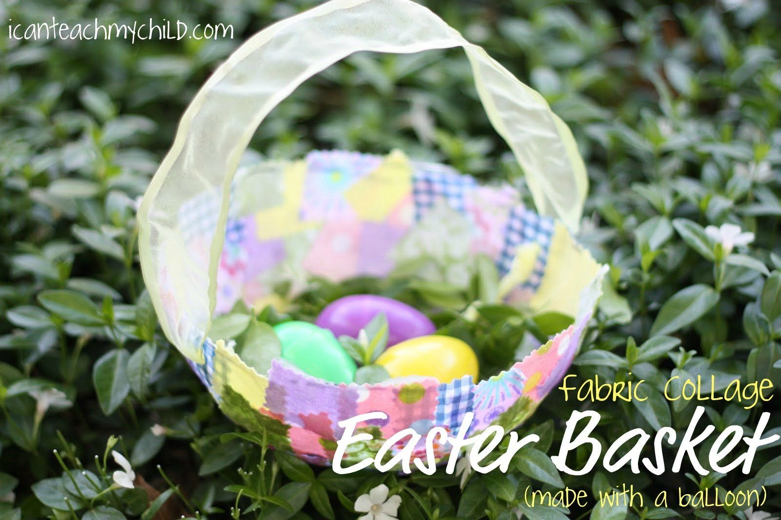 Photo of How To Make Fabric Easter Baskets – I Can Teach My Child!