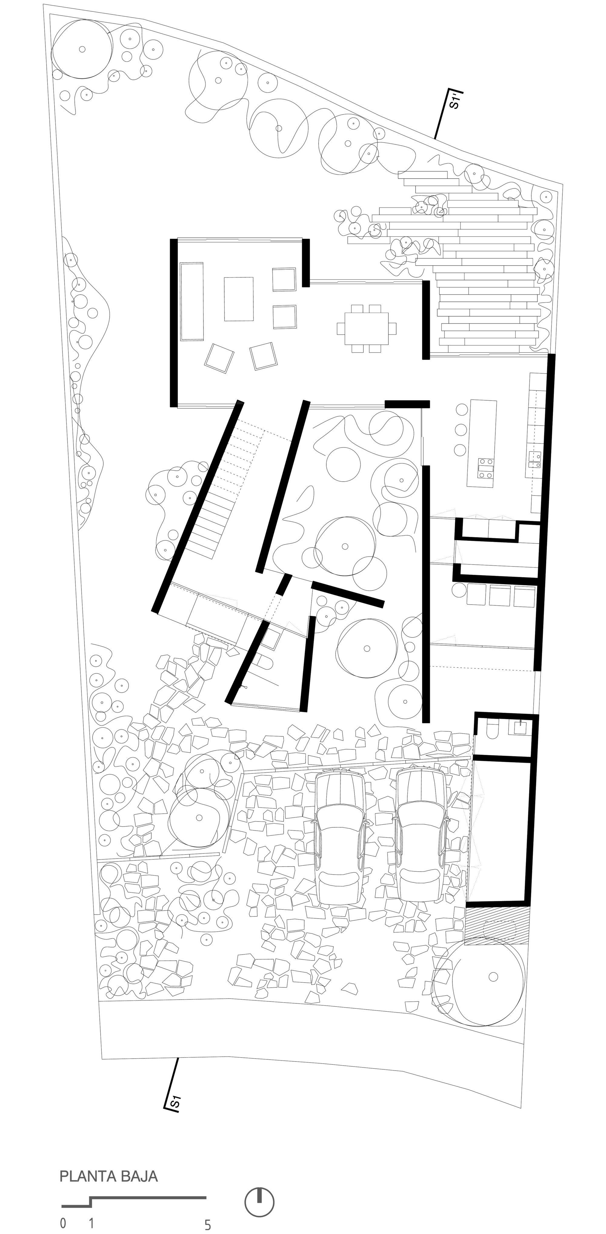 Galer a de casa prado coa arquitectura estudio mac as for Casa minimalista dwg
