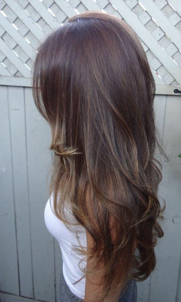 100 Coole Bilder Von Frisuren Fur Braune Haare Braune Haare Haarfarben Lange Braune Haare