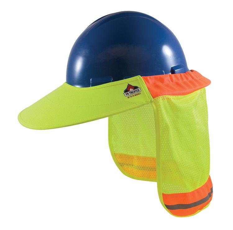 Pip 396 801 Fr Treated Hard Hat Visor Pasamontanas Uniformes