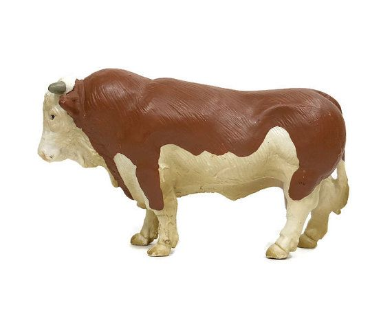 Schleich Holstein Bulls Dairy Breed Model