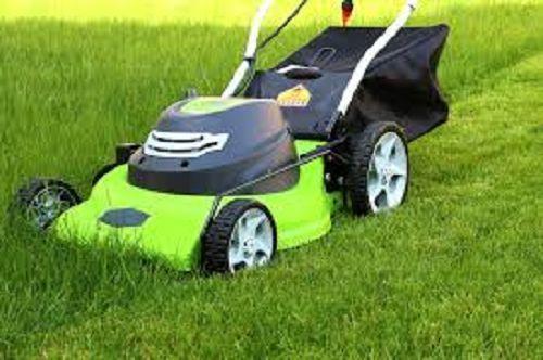 Electric Lawn Mower Corded Adjule Cut 12 Amp Motor 20 Inch Blade Gr Yard Greenworks