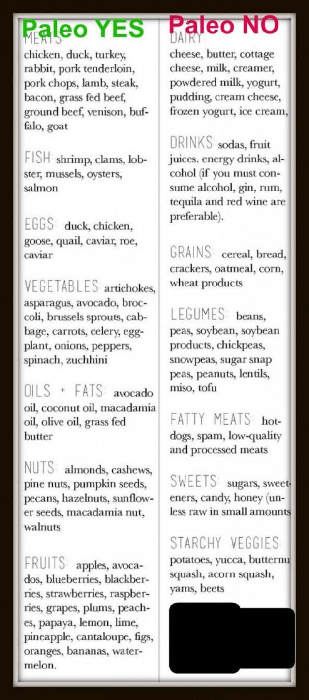 Paleo Diet Plan For Beginners Paleo Yes Paleo No Please Repin Carbswitch Dietplan Paleodiet Em 2020 Dieta Paleo Dieta