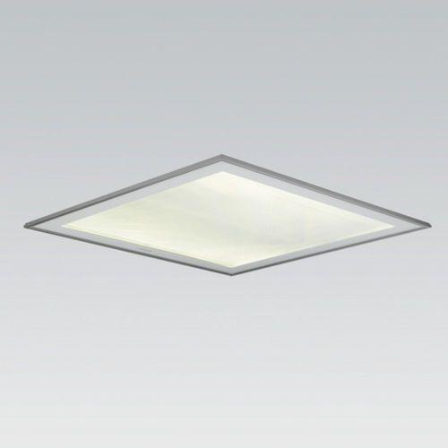 Square Recessed Fluorescent Ceiling Light Fixture Quadrature 2 Siteco Ceiling Lights Recessed Ceiling Lights Light Fixtures Square ceiling lighting fixtures