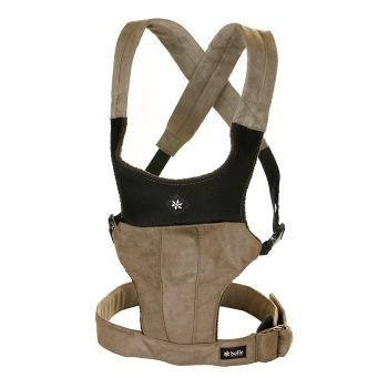 Belle Baby Carrier in Cappuccino, $89.95