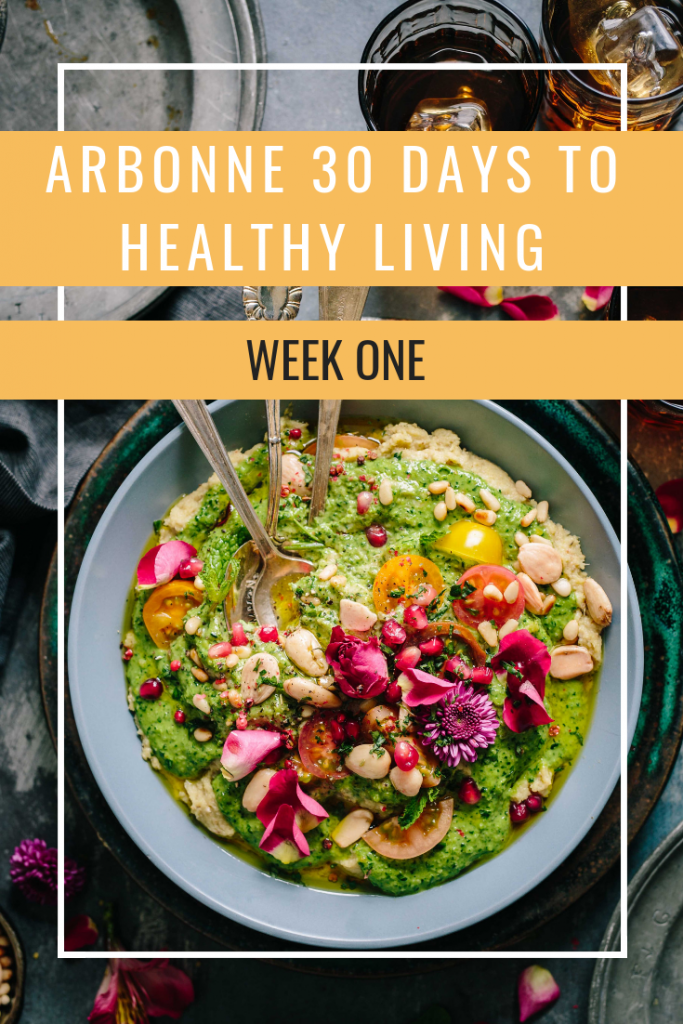 Arbonne 30 Days To Healthy Living Challenge: Week One - JANINE ALLISON #healthyliving