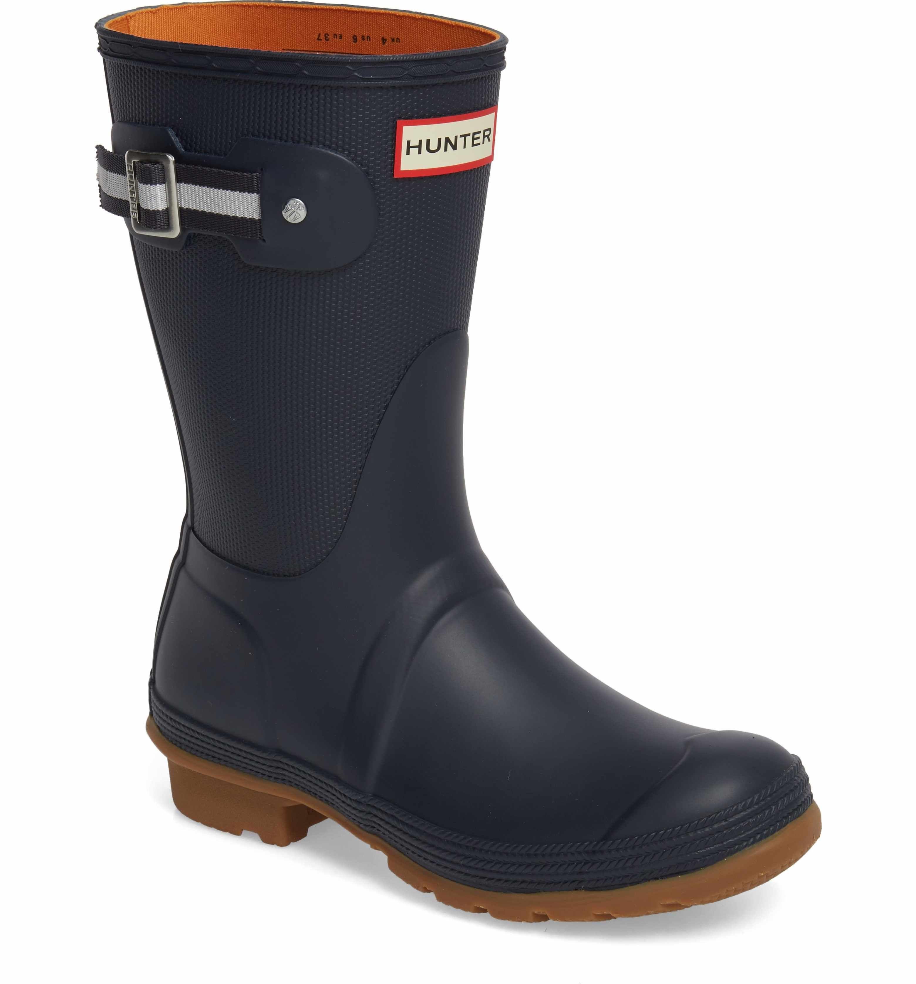 318ab8053 Main Image - Hunter Original Sissinghurst Short Rain Boot (Women ...