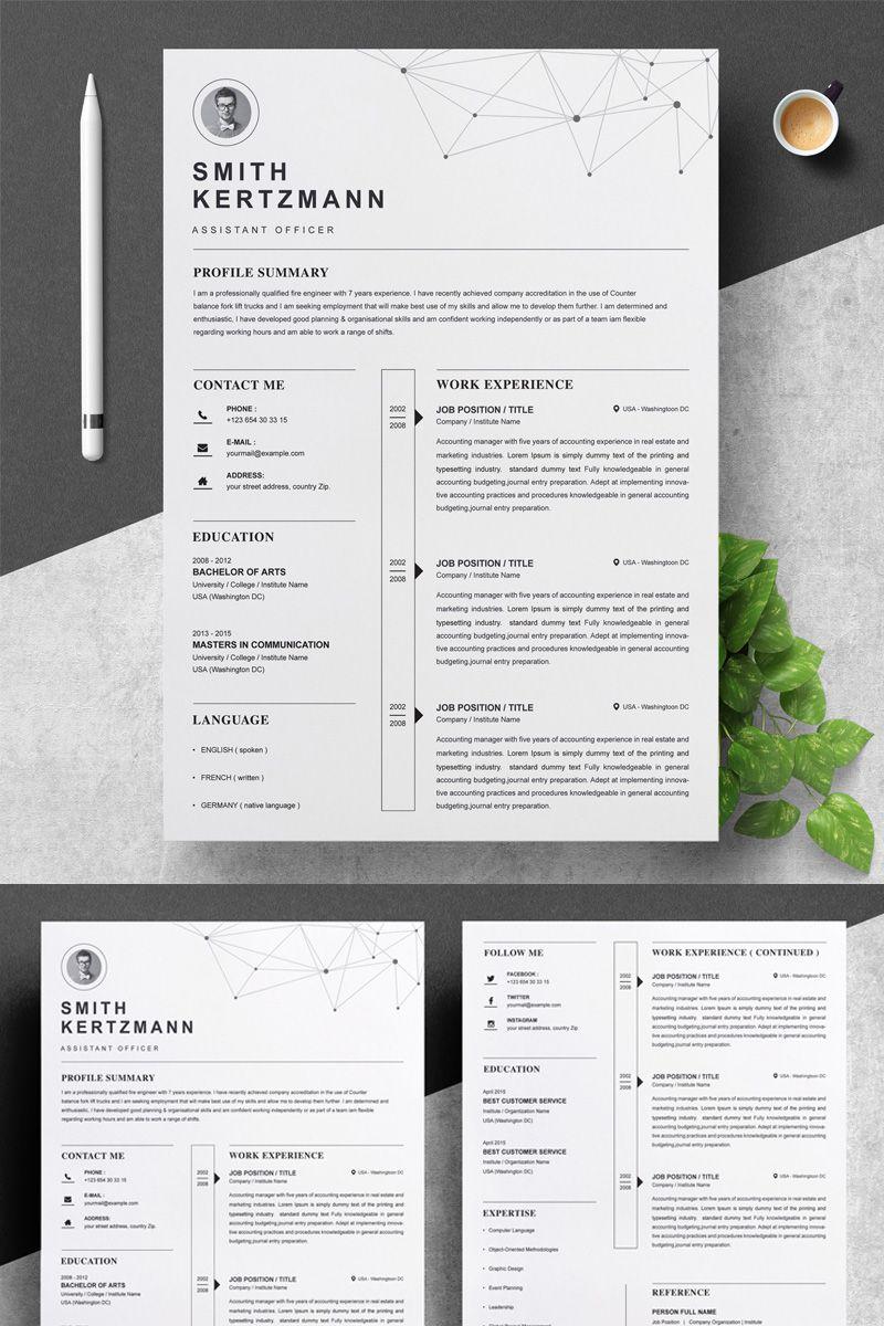 Smith Resume Template 82175 Resume, Creative resume