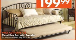 Big Lots Trundle Bed Metal Day Bed With Trundle From Big Lots