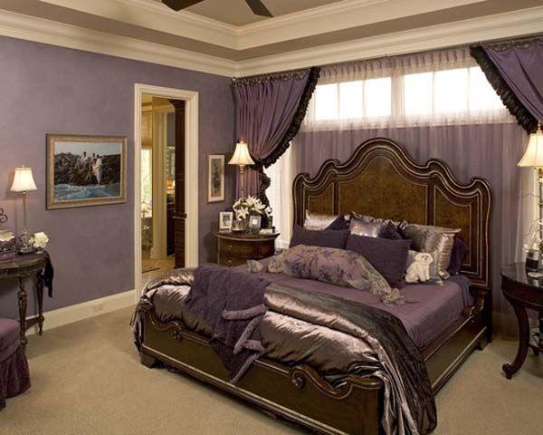 Violet Brown Bedroom Google Search Remodel Bedroom Purple Master Bedroom Romantic Bedroom Colors