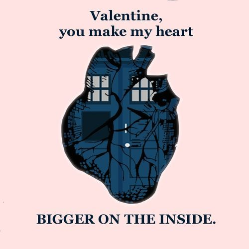 Image result for tardis heart