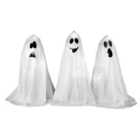 Pre-Lit Ghost Trio Halloween Decor Halloween Pinterest Lights