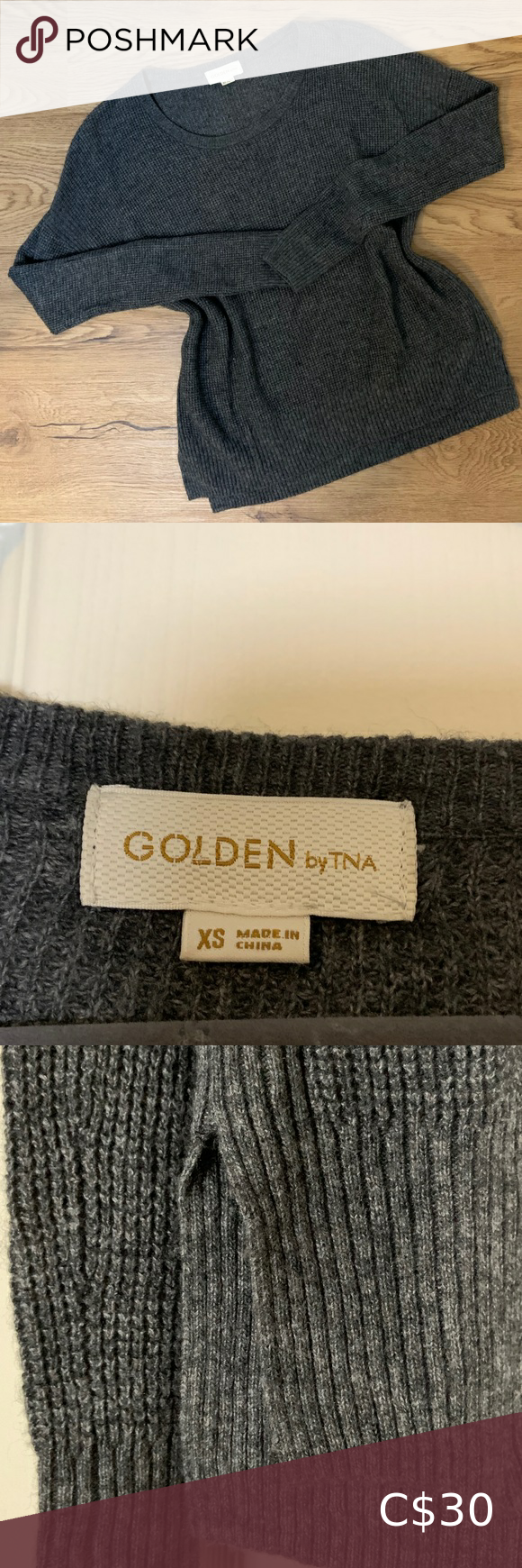 GOLDEN BY TNA✨| WAFFLE THERMAL KNIT