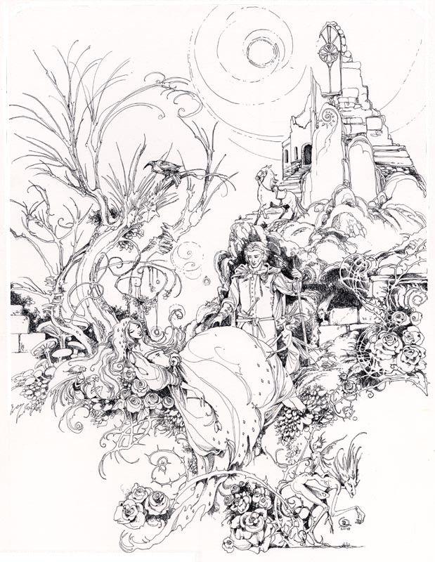 A bela Adormecida Desenhos Pinterest Fairy tale nursery and - copy coloring pages princess sleeping beauty