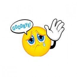 So Long Farewell Goodbye Funny Emoticons Funny Emoji Emoticons Emojis