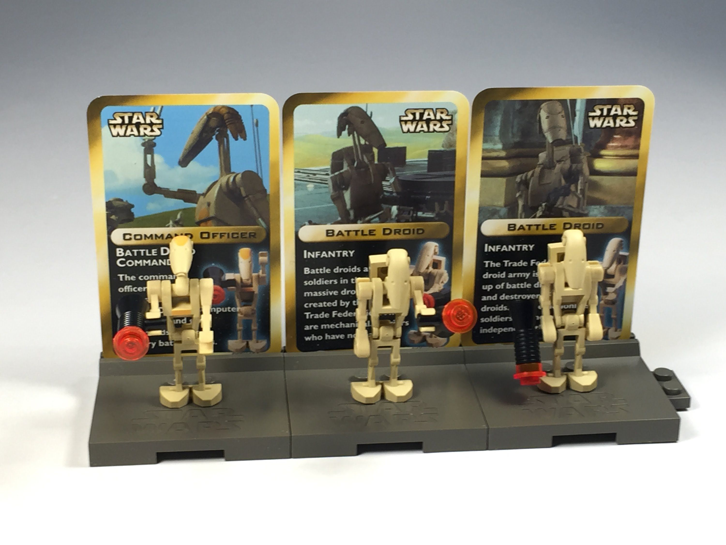 LEGO Star Wars 4 set 3343 Droid Minifigure Pack from 2000  LEGO