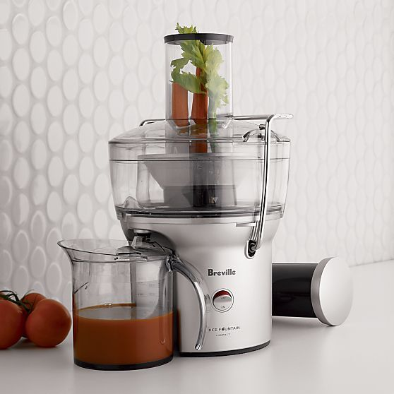 Breville Juice Fountain Compact Crate and Barrel