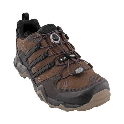 06ddb158c Men s adidas Terrex Swift R GORE-TEX - Brown Black Simple Brown Hiking Shoes