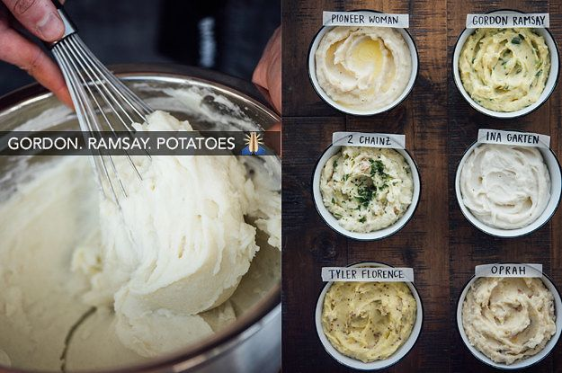i made 6 famous mashed potato recipes and found the very best one mashed potato recipes recipes gordon ramsay mashed potatoes pinterest