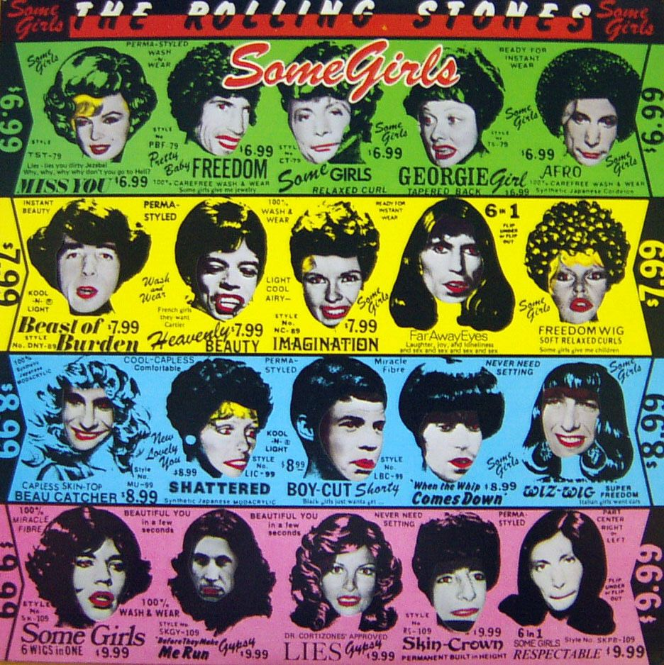 Some Girls Rolling Stones Psychedelic Rock And Music